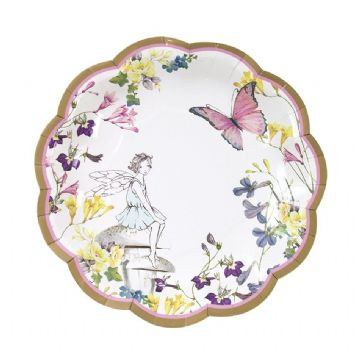 Truly Fairy Pretty Paper Plates - pack of 12